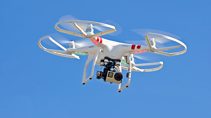 Drones free to fly up to 400 feet